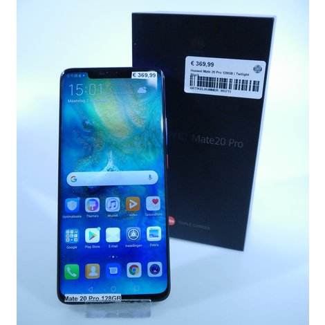 Huawei Mate 20 Pro 128GB | Twilight Black