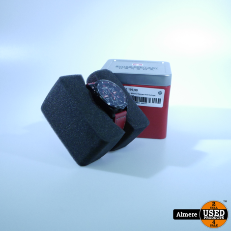 Swiss Military Hanowa Red Horloge | Nette staat