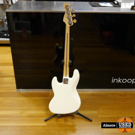 Fender Classic Jazz Bass Lacquer Olympic White PF 2018/2019 Mexico