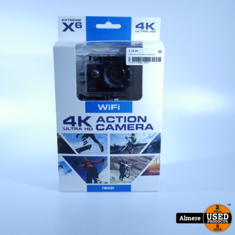 Nikkei 4K Action Cam | Nieuwstaat