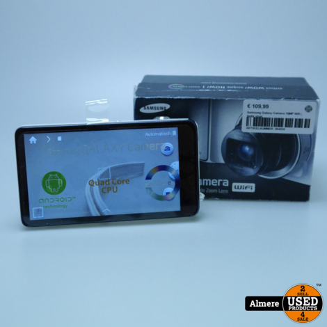 Samsung Galaxy Camera 16MP Wifi | Nette staat