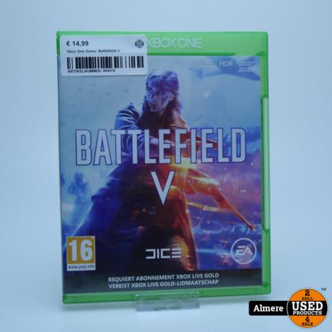 Xbox One Game: Battlefield V