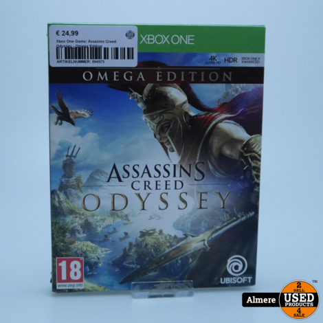 Xbox One Game: Assasins Creed Odyssey - Omega Edition
