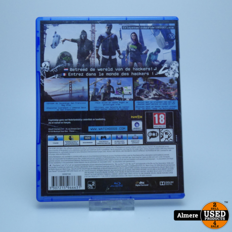 Playstation 4 Game: WatchDogs 2