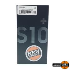 Samsung Galaxy S10+ 128GB Prism Black DUOS   Nieuw uit doos + Bon