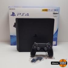 Playstation 4 Slim 500GB Zwart   Nette staat