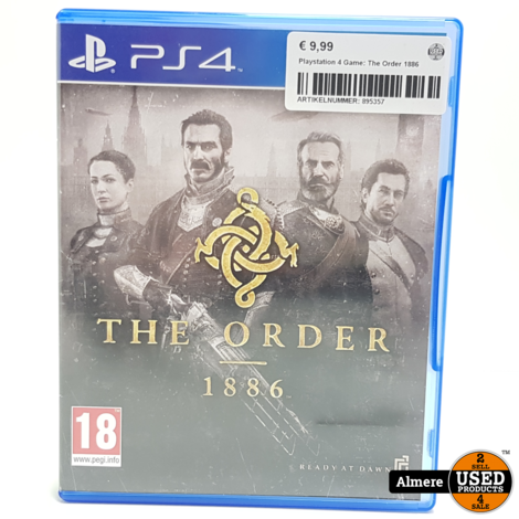 Playstation 4 Game: The Order 1886