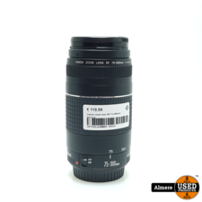 Canon zoom lens EF 75-300mm f/4.5-5.6