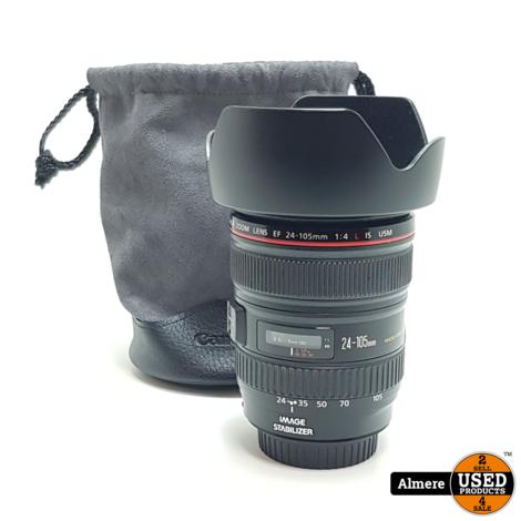 Canon EF 24-105mm F/4 L IS USM Lens   Nette staat