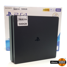 Sony PlayStation Playstation 4 Slim 500GB Zwart | Nette staat