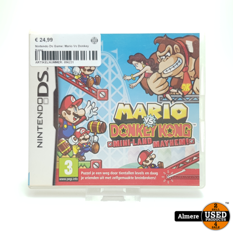 Nintendo Ds Game: Mario Vs Donkey Kong