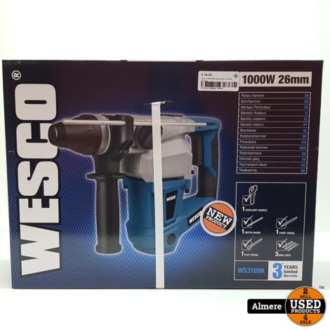 Wesco WS3189K Boorhamer | Nieuw in doos