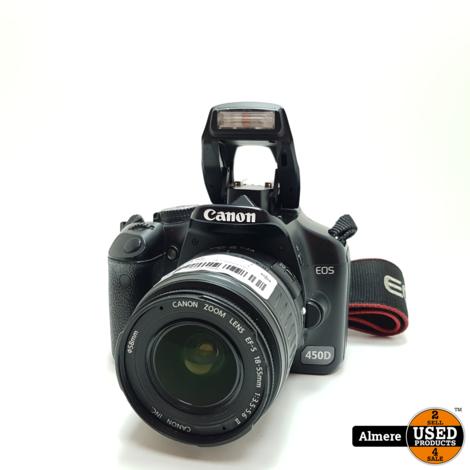 Canon eos 450D + 18-55mm Lens