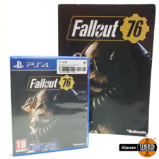 Sony PlayStation PlayStation 4 Game: Fallout 76 inclusief official guide