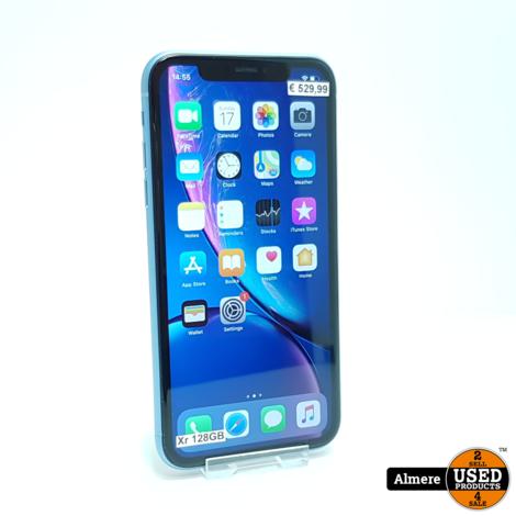 iPhone Xr 128GB Blue   Nieuwstaat