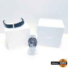 Seiko Premier Perpetual Alarm Chronograph Watch SPC051P1 7T89-0AA0