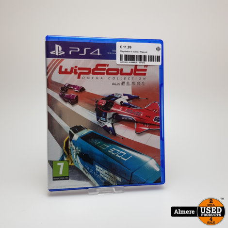 Playstation 4 Game: Wipeout