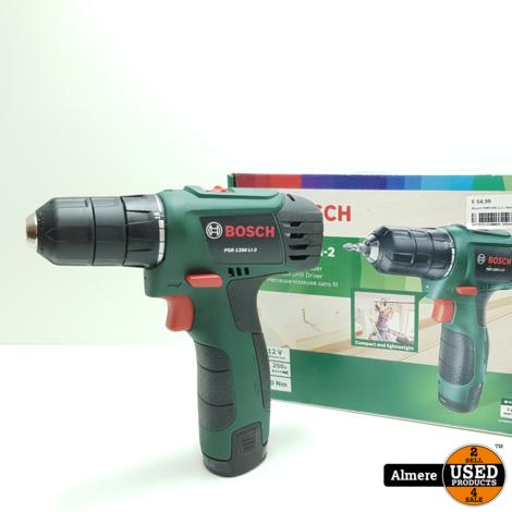Bosch PSR1200 Li-2 | Nieuwstaat