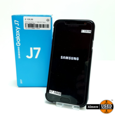Samsung Galaxy J7 16GB 2017 Duos Black | Nette staat