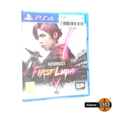 Playstation 4 Game: Infamious First Light