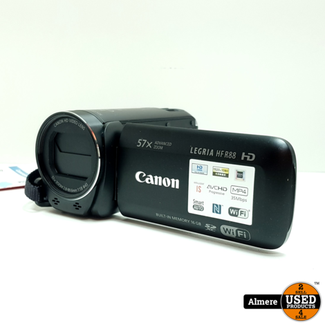 Canon Legria HF R88 FHD camcorder | Nieuwstaat