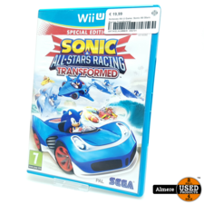 Nintendo Wii U Game: Sonic All Stars Racing Transformed