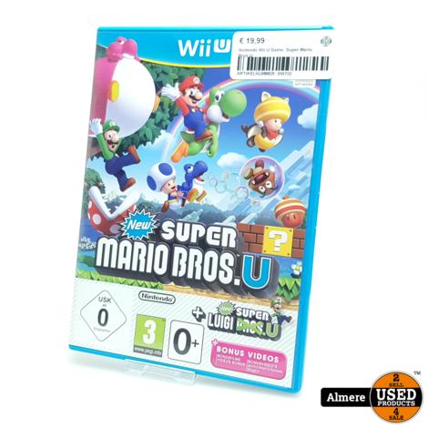 Nintendo Wii U Game: Super Mario Bros U