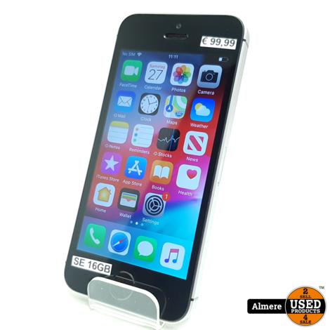 iPhone  SE 16GB Space Gray | Redelijke staat