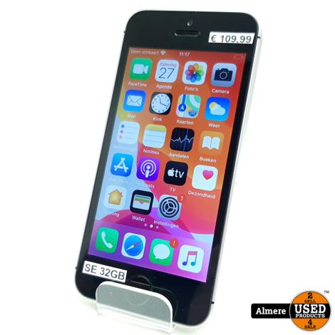 iPhone  SE 32GB Space Gray   Redelijke staat