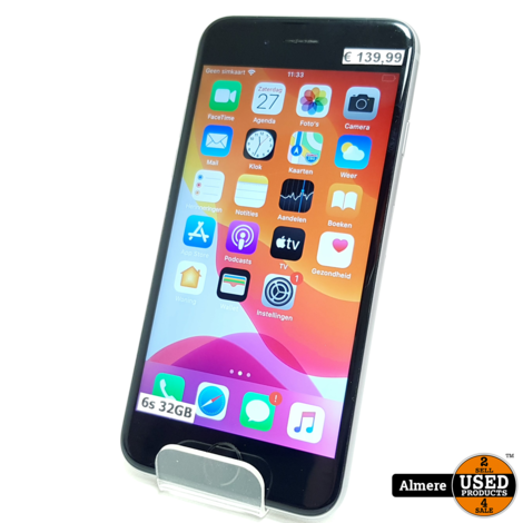 iPhone 6S 32GB Space Gray | Redelijke staat