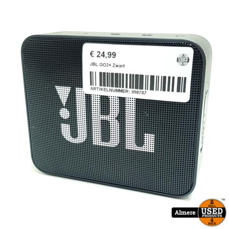 JBL GO2+ Zwart