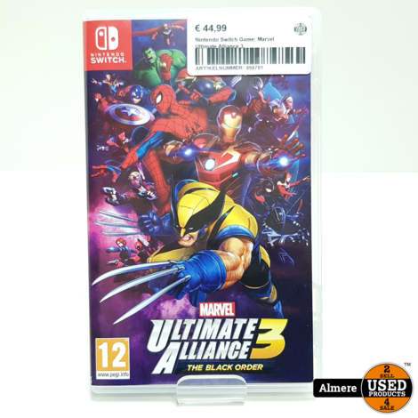 Nintendo Switch Game: Marvel Ultimate Alliance 3