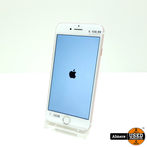 iPhone 7 Rose Gold 32GB   nette staat