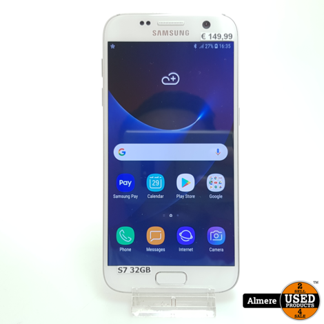 Samsung Galaxy S7 32GB Wit | Nette staat