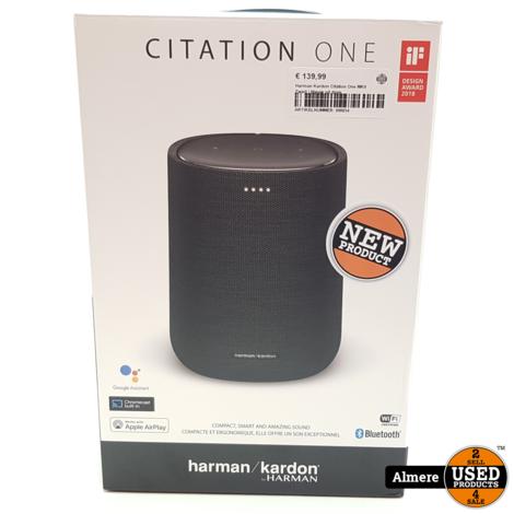 Harman Kardon Citation One MKII Zwart | Nieuw uit doos