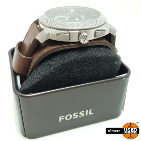 Fossil FS44793 LEATHER | Nette staat met garantie