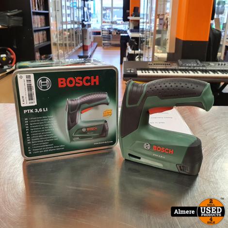 Bosch PTK 3.6v Li tacker   nette staat