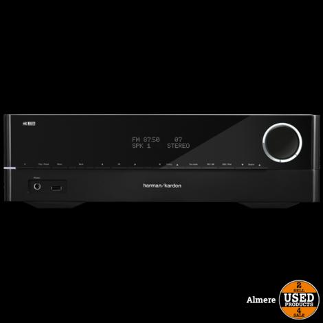 Harman Kardon HK 3700 170 Watt 2.1 Stereo Receiver Zwart   Nieuw in doos