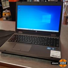 HP HP Probook 6560b i5 120SSD 8GB accu defect