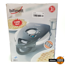 Bifinett Bifinett Waffle Maker 1200 Watt   Nieuw uit doos