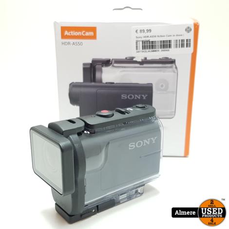 Sony HDR-AS50 Action Cam in doos   Nieuwstaat
