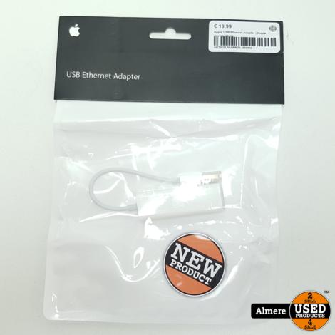 Apple USB Ethernet Adapter | Nieuw in verpakking