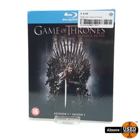 BluRay Box Game of Thrones Seizoen 1