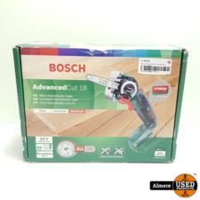 Bosch AdvancedCut 18 zonder accu en lader   Nieuw