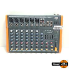 Ibiza Sound MX801 Compacte 8-Kanaals Muziek Mengpaneel   Nette staat