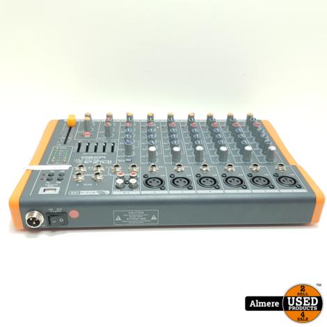 Ibiza Sound MX801 Compacte 8-Kanaals Muziek Mengpaneel | Nette staat
