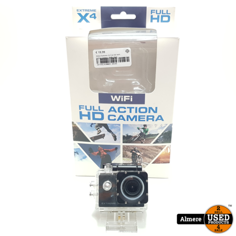 Nikkei Extreme X4 Full HD WiFi Action Camera | Nette staat