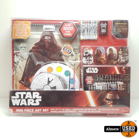 Star Wars Stempel Set voor Kinderen Tweekleurig Inktkussen 4x6x1cm Stempel