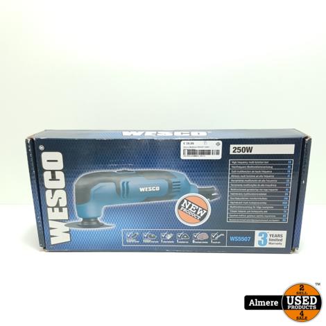 Wesco Multitool WS5507 250W | Nieuw in doos