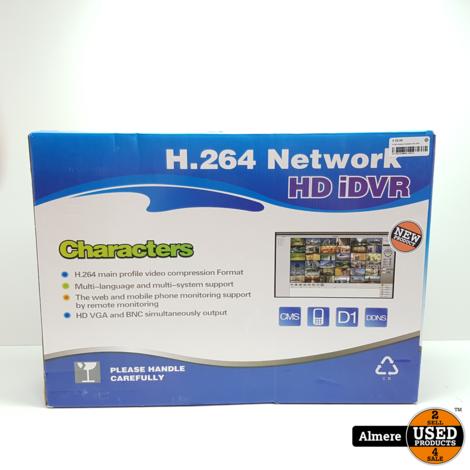H.264 Camera Systeem HD iDVR